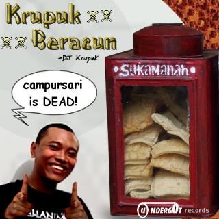Sampul Album Krupuk Beracun